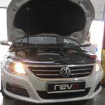 Volkswagen Passat CC1.8  152 л.с. 250 Нм  Revo st1  210 л.с. 340 Нм